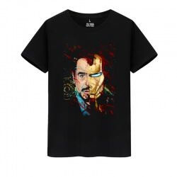 Marvel Hero Iron Man T-Shirts Avengers Tees