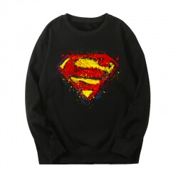 Black Sweatshirts Marvel Superman Jacket