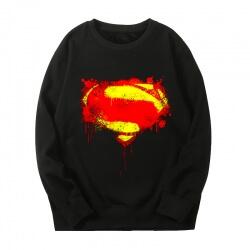 Superman Sweatshirts Marvel Quality Tops
