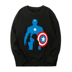 Captain America Sweatshirts Marvel The Avengers Hoodie
