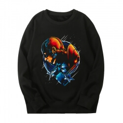 Captain America Sweatshirts Marvel The Avengers Tops