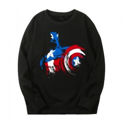 Captain America Sweatshirt Marvel The Avengers Hoodie
