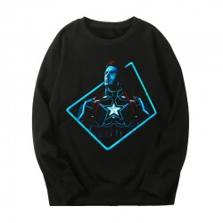 Marvel Captain America Coat The Avengers Sweatshirt