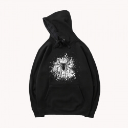 Black Coat Marvel Spiderman Hoodies