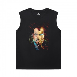 The Avengers Tshirt Marvel Iron Man Sleeveless Tshirt Men