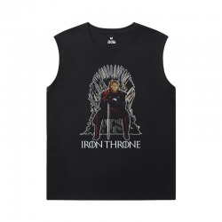 The Avengers Shirts Marvel Iron Man Boys Sleeveless Tshirt