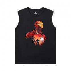 The Avengers Tshirts Marvel Iron Man Youth Sleeveless T Shirts