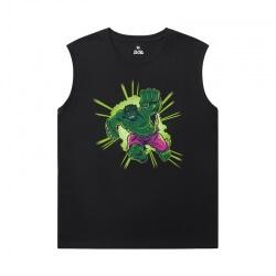 The Avengers Tshirt Marvel Hulk Sleeveless T Shirts Men'S For Gym