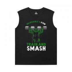 The Avengers Shirts Marvel Hulk Sleeveless T Shirt Mens Gym
