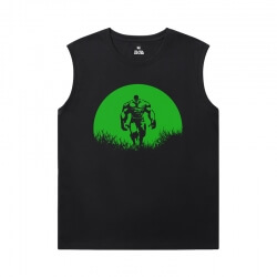 The Avengers Shirts Marvel Hulk Men'S Sleeveless T Shirts Cotton