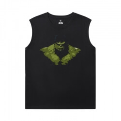 Marvel Hulk Tee Shirt The Avengers Sleeveless Tshirt For Men