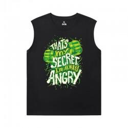 The Avengers Tshirts Marvel Hulk Mens Sleeveless Sports T Shirts