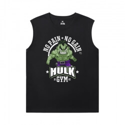 Marvel Hulk Sleeveless Wicking T Shirts The Avengers T-Shirt