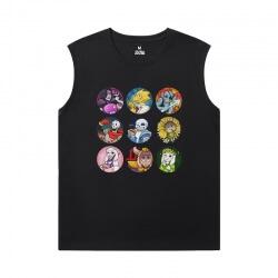 Undertale Cheap Sleeveless T Shirts Quality Annoying Dog Skull Shirt