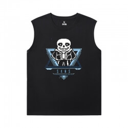 Hot Topic Annoying Dog Skull Tshirts Undertale Sleeveless Running T Shirt