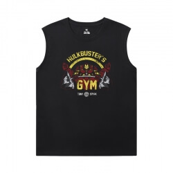 Marvel Iron Man Sleeveless Tshirt The Avengers Tee Shirt