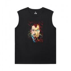 Iron Man T-Shirts Marvel The Avengers 7X Sleeveless T Shirts