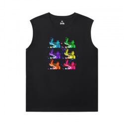 Marvel Iron Man Tee Shirt The Avengers Black Sleeveless T Shirt