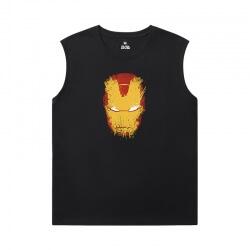 The Avengers Tshirts Marvel Iron Man Men'S Sleeveless T Shirts For Gym