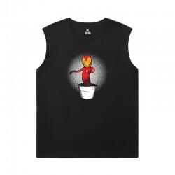 The Avengers Tshirt Marvel Iron Man Sleeveless Tee Shirts Mens