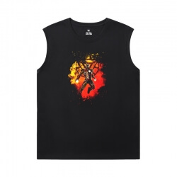 Marvel Iron Man Tee The Avengers Sleeveless Round Neck T Shirt
