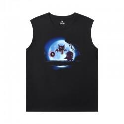 Cotton Gengar Tshirts Pokemon Youth Sleeveless T Shirts