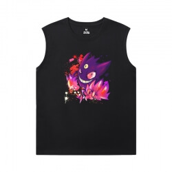 Hot Topic Gengar Tshirt Pokemon Sleeveless Round Neck T Shirt