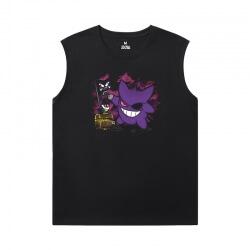 Quality Gengar Shirts Pokemon Black Sleeveless T Shirt