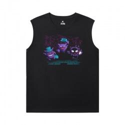 Cool Gengar Tshirt Pokemon Sleeveless Shirts Mens
