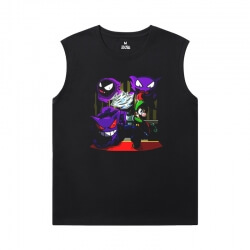 Pokemon Sleeveless Running T Shirt Personalised Gengar T-Shirts