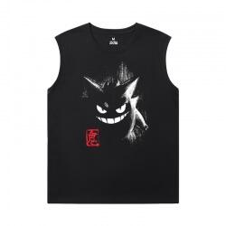 Personalised Gengar Shirts Pokemon Men'S Sleeveless Muscle T Shirts