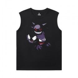 Pokemon Boys Sleeveless T Shirts Personalised Gengar Shirt