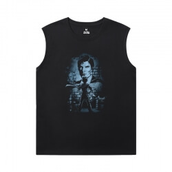 Justice League Superman Tee Shirt Superhero Sleeveless Running T Shirt