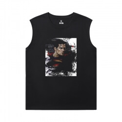 Marvel Tshirts Justice League Superman Sleeveless Tee Shirts Mens