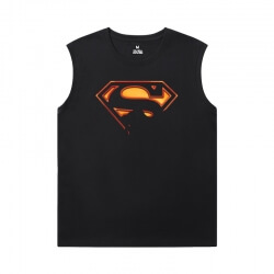 Marvel Tshirt Justice League Superman Basketball Sleeveless T Shirt
