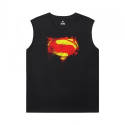 Superhero Shirts Justice League Superman Cheap Sleeveless T Shirts