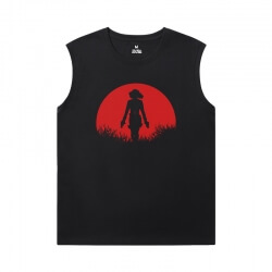 The Avengers Tshirts Marvel Black Widow Sleeveless Tee Shirts