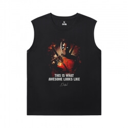 Marvel Deadpool Tee Xxl Sleeveless T Shirts