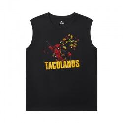 Deadpool T-Shirts Marvel Sleeveless T Shirts For Running