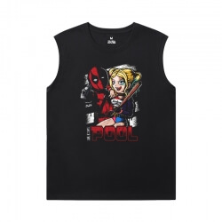 Tshirt Marvel Deadpool Men'S Sleeveless Muscle T Shirts
