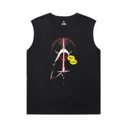 Deadpool Shirt Marvel Boys Sleeveless T Shirts