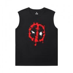 Marvel Deadpool Tee Shirt Sleeveless Running T Shirt