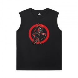 Shirts Marvel Deadpool Sleevless Tshirt For Men