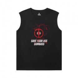 Marvel Deadpool Sleeveless Shirts For Mens Online Tee Shirt