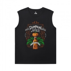 Harry Potter T-Shirt Quality Black Sleeveless T Shirt Mens