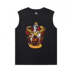 XXL Tshirt Harry Potter Black Sleeveless Shirt Men
