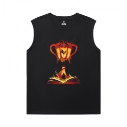 Harry Potter Shirt Cotton Sleeveless Shirts Mens