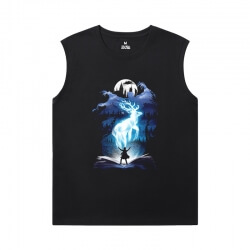 Harry Potter Tee Shirt Quality Sleeveless T Shirt For Gym