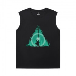 Harry Potter Sleeveless Cotton T Shirts Cool T-Shirts
