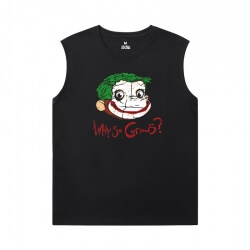 Batman Joker Tee Marvel Sleeveless T Shirt For Gym